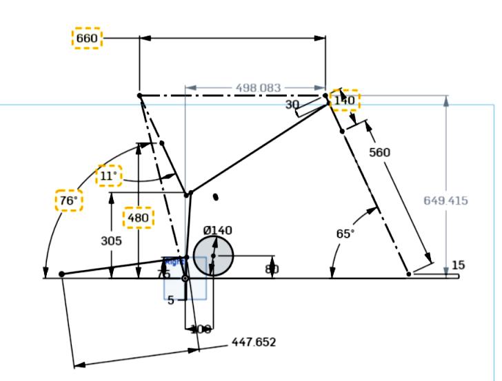 LMX64 Geometrie Large