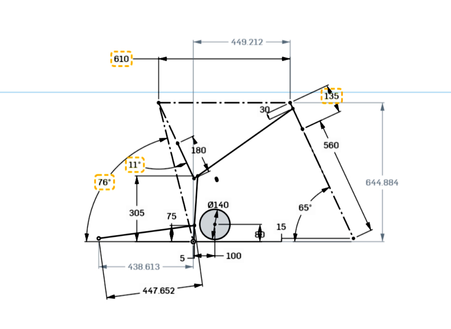LMX64 Geometrie Medium