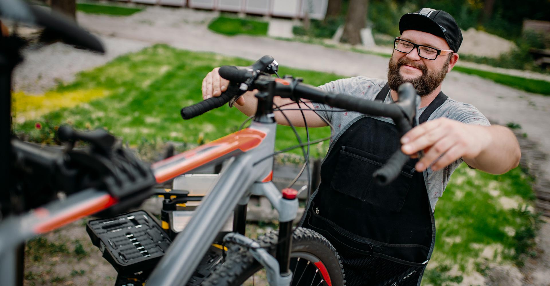 Uw fiets onderhouden, dat doet u zo!