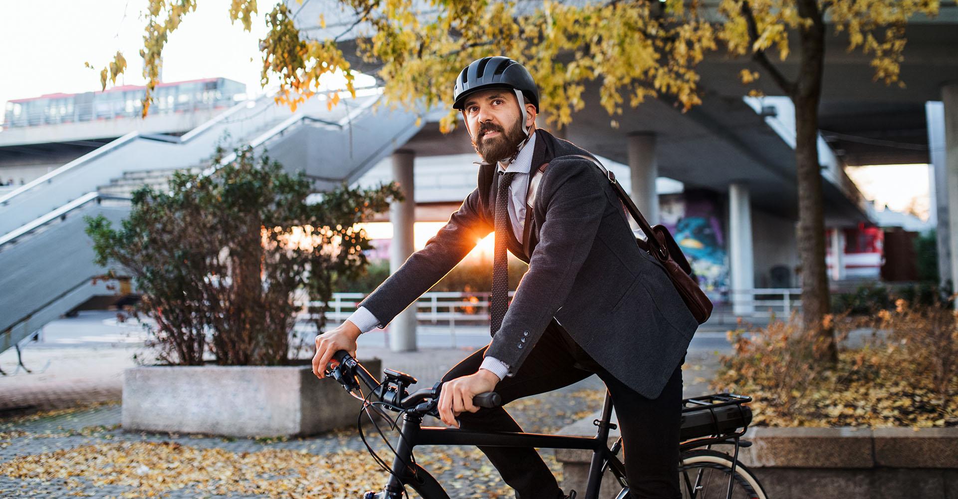 Met de fiets naar het werk: dat loont!